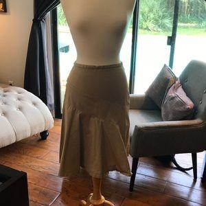 Gap stretch knee length skirt